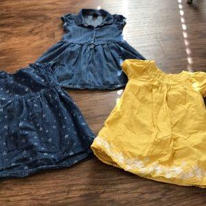 Toddler girl Gap dresses -size 3years